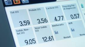 Die Messungen entsprechen den internationalen Standards der Milchwirtschaft.