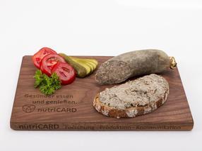 Die herzgesündere Leberwurst ist eines der neuen Lebensmittel, die an der Veterinärmedizinischen Fakultät der Universität Leipzig entwickelt wurden.