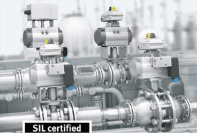 Safety devices in process-industry plants