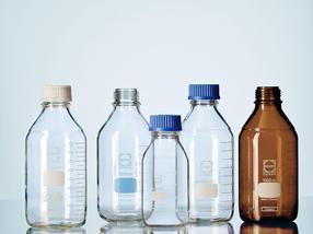 Das Original: Die DURAN® GL 45 Laborglasflasche ist heute Standard in den Laboratorien weltweit