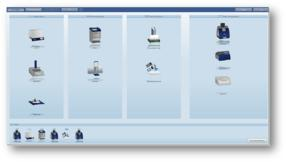 visionCATS guides the user through all steps of the chromatographic processes