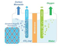 carbon dioxide sequestration conversion COFs