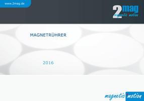 2mag Magnetrührer Katalog Deutsch 2016