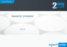 2mag Magnetic Stirrers Catalogue 2016