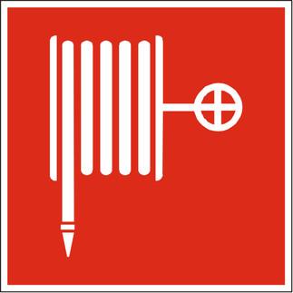 Знак пожарный кран F02.  Для обозначения пожарного крана.