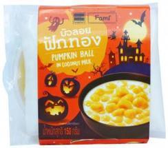 Pumpkin Balls in Coconut Milk – Thailand